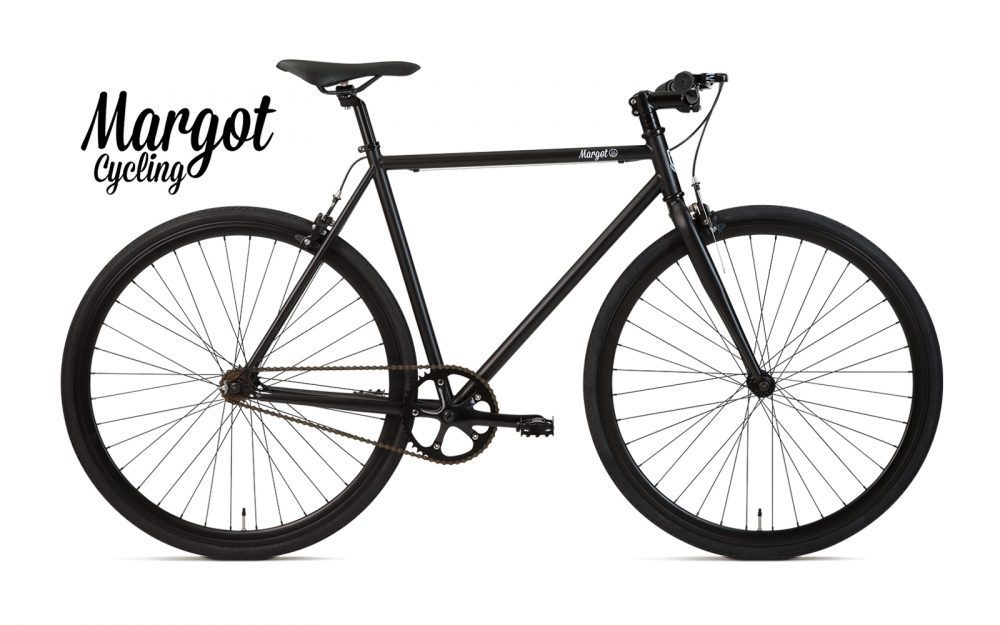 WILD BOY bici fixed scatto fisso nero opaco