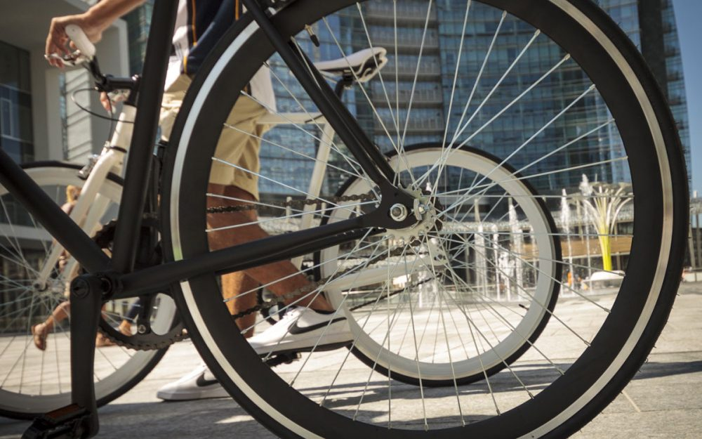 Bici Scatto Fisso Ruota Libera Contropedale