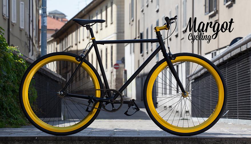 ELDORADO bici scatto fisso con ruota libera