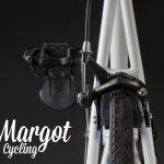 Telaio bici prospettiva dal retro