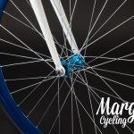 Ruota anteriore e mozzo bici fixed
