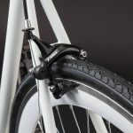 Fixie single speed: freno posteriore