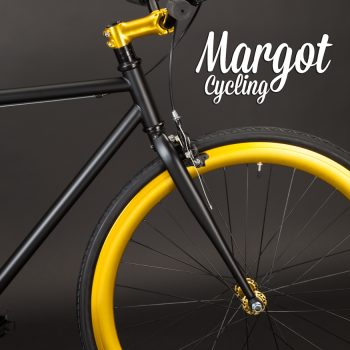 ELDORADO bici minimalista: ruota e pipa manubrio