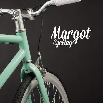 TIFFANY bici minimal leggera: ruota anteriore e manubrio