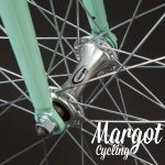 TIFFANY Single Speed Fahrrad. Nabe vorne