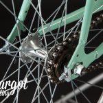 TIFFANY bici minimal leggera: mozzo flip-flop