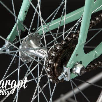 TIFFANY Single Speed Bike: Nabe hinten Flip Flop