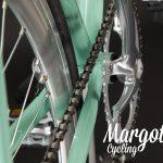 TIFFANY bici fixie: dettaglio catena bici vintage