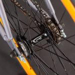 LAMPO bici single speed: mozzo flip-flop