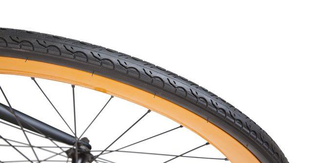 LAMPO bici single speed copertoni comfort city