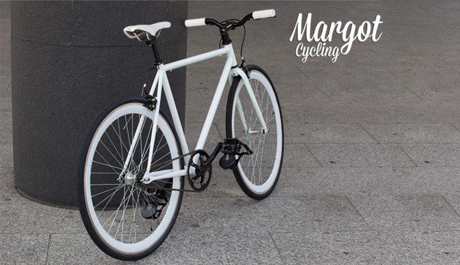 SWAN FLUO bici scatto fisso con ruota libera