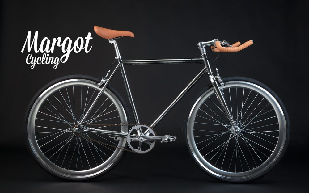 Fixie Chrom Singlespeed Bike