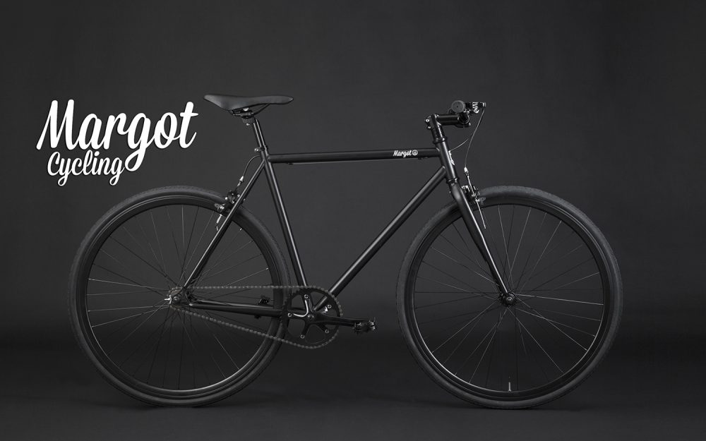 Fixie schwarz Singlespeed Bike