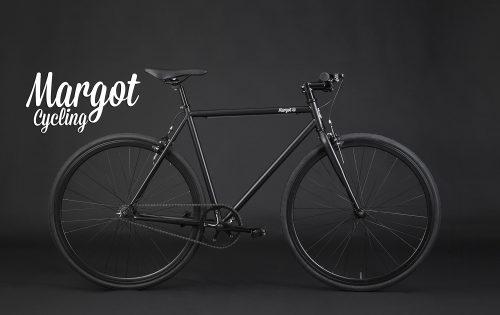 Bici fixed nero opaco scatto fisso