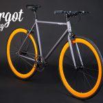 LAMPO bici colorate: telaio prospettiva anteriore