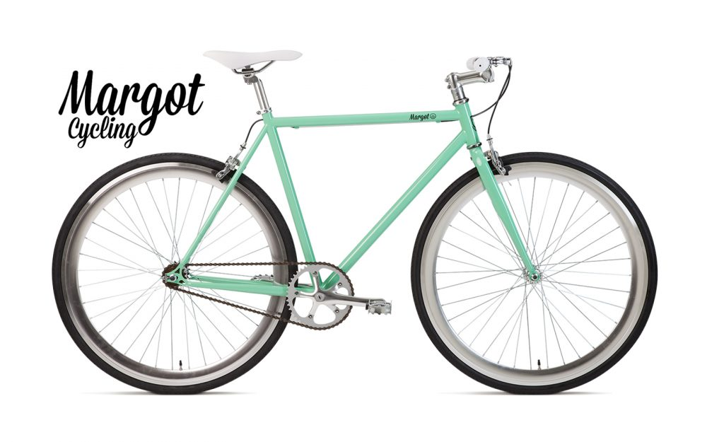 TIFFANY bici fixed scatto fisso verde