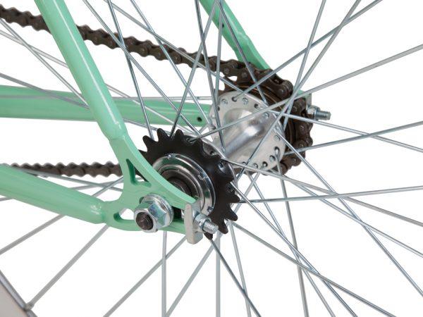 TIFFANY Fahrrad mit Flip Flop Nabe. Fixie oder Singlespeed