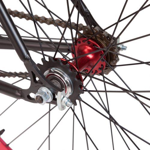 Fixed bike anche ruota libera con mozzo flip flop