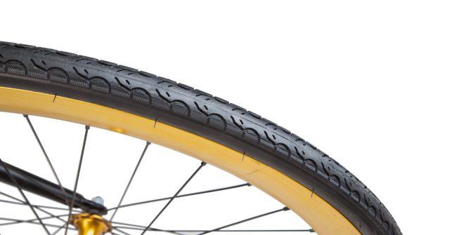 ELDORADO Single Speed Fahrrad mit Comfort City Reifen