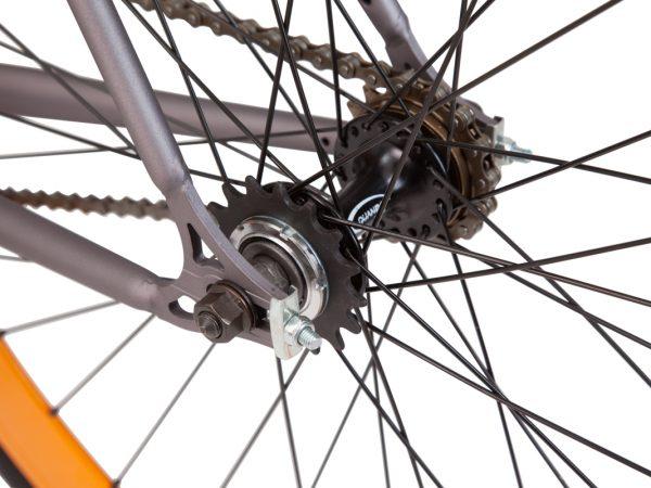 LAMPO Fahrrad mit Flip Flop Nabe. Fixie oder Singlespeed