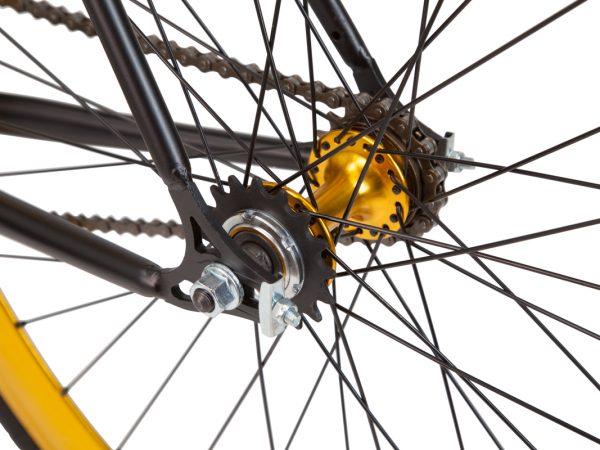 ELDORADO Fahrrad mit Flip Flop Nabe. Fixie oder Singlespeed