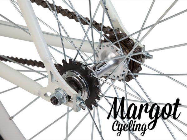 Mozzo flip-flop a doppia corona in bici a scatto fisso