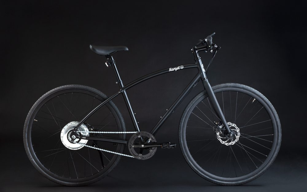 Bici elettrica da città, leggera non plug-in con motore zehus