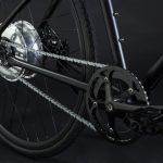 Bici elettrica OLYMPUS-ZERO. Sistema integrato motore-batteria Zehus.