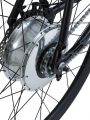 Bici elettrica a pedalata assistita OLYMPUS-ZERO. Sistema All-In-One.