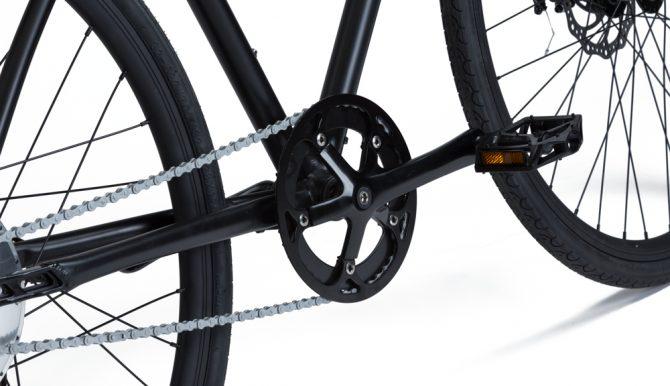 Bici elettrica a pedalata assistita OLYMPUS-ZERO: con KERS retropedalando.