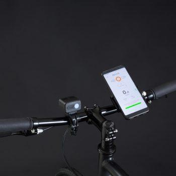 Bici elettrica a pedalata assistita OLYMPUS-ZERO. Controllo attraverso app bitride.