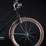 City bike donna: parte anteriore telaio e ruota