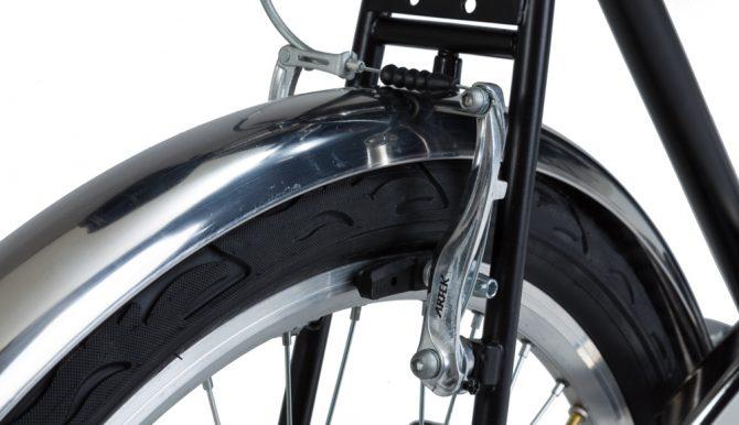 City bike uomo: parafanghi in acciaio inox