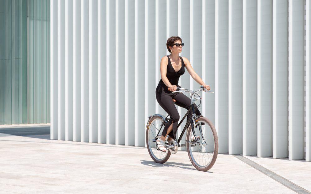 Bici donna da città con cambio sigillato