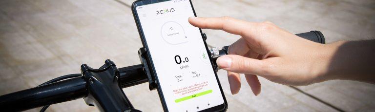 Controlli la tua bici elettrica OLYMPUS dallo smartphone.
