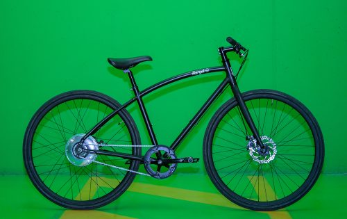 Bici elettrica da città, leggera con motore zehus