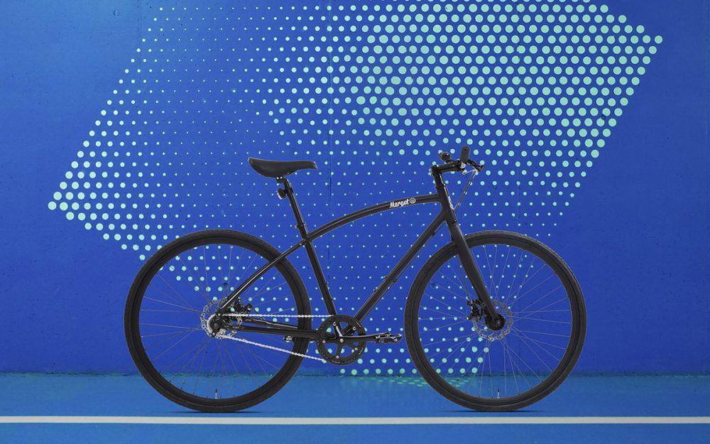 Bici urban style leggera. Telaio in alluminio.